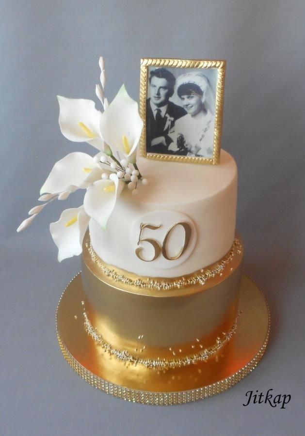 торт на золотую свадьбу фото фламандской кладке