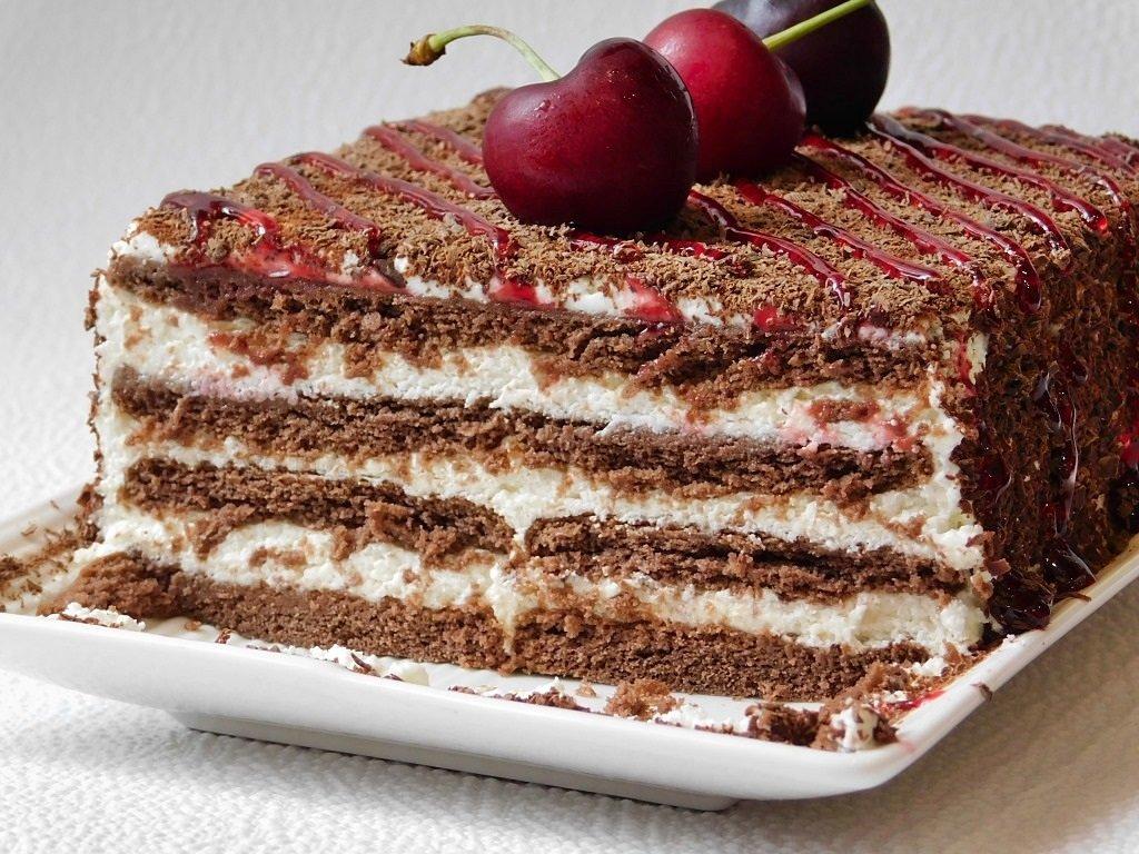 Испечь легкий торт фото