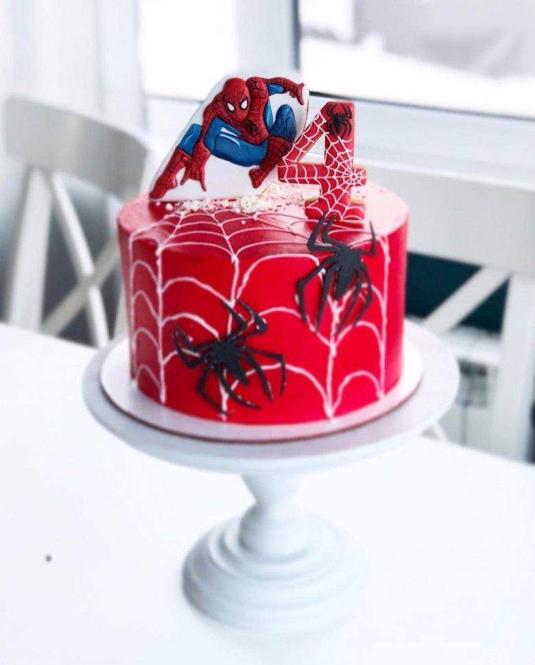 видео открытка человек паук фото и картинки на торт это древнее