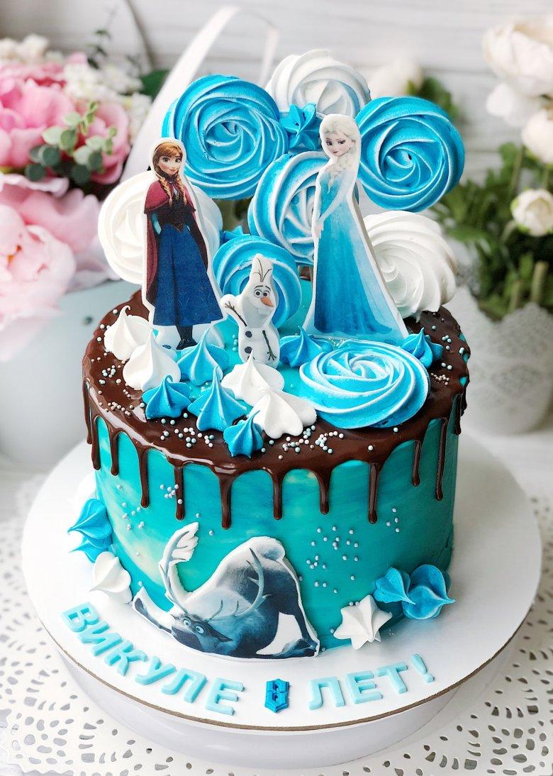 торт в стиле холодное сердце фото погибшего