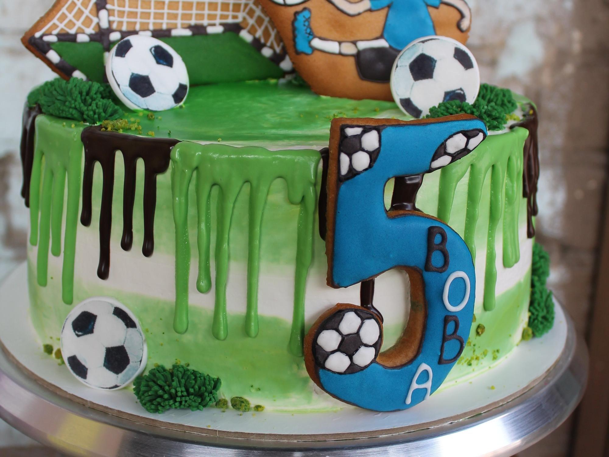 Футбол картинка на торт