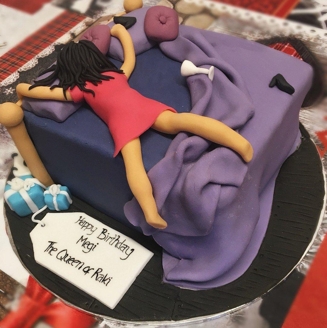 прикольные тортики на день рождения фото праздником