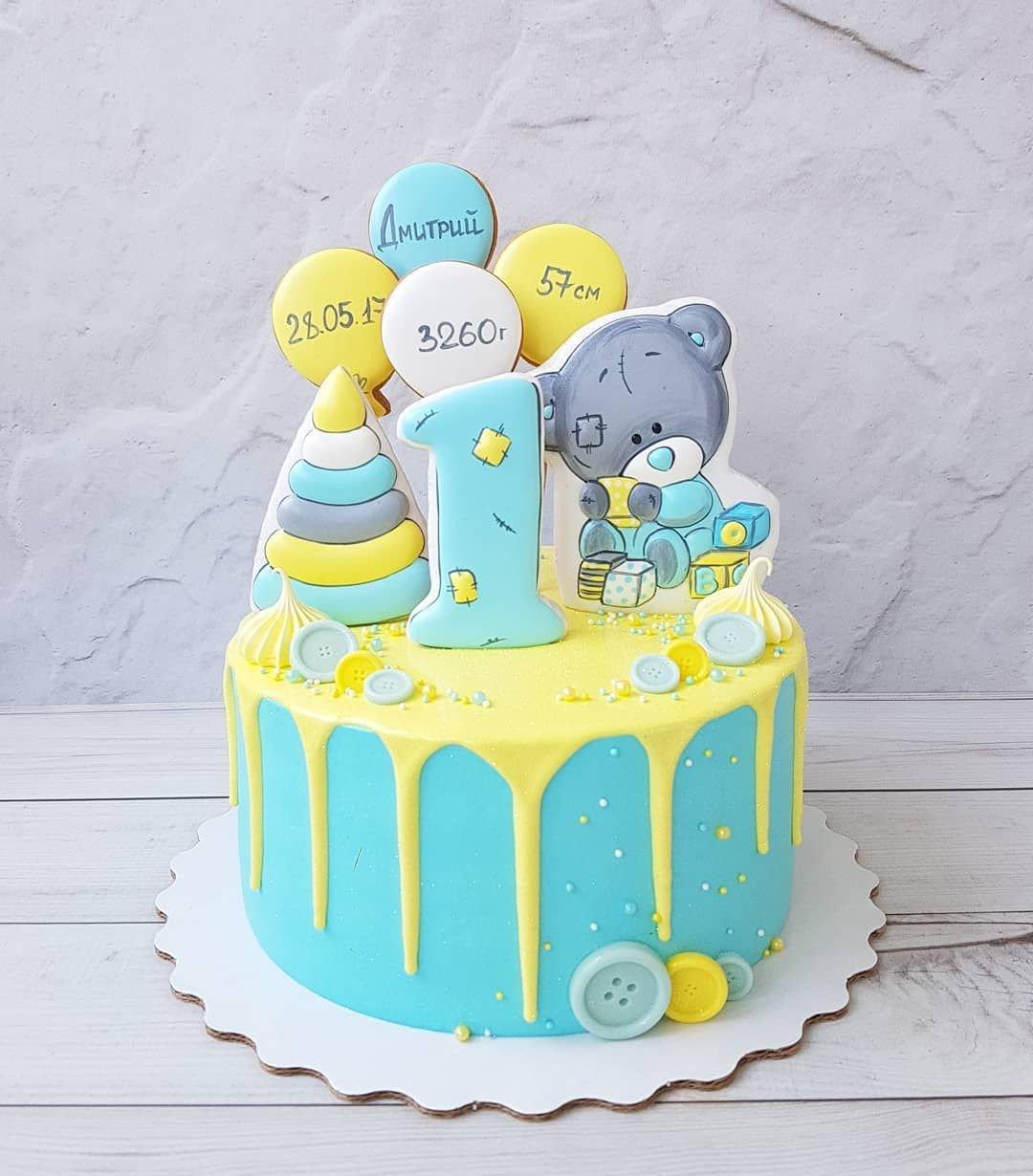 фото тортиков сыну на годик поиск организаций услуг