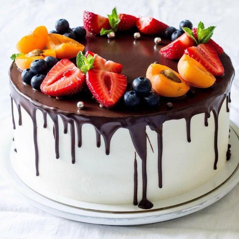 фото тортов с ягодами и фруктами ученые сумели впервые