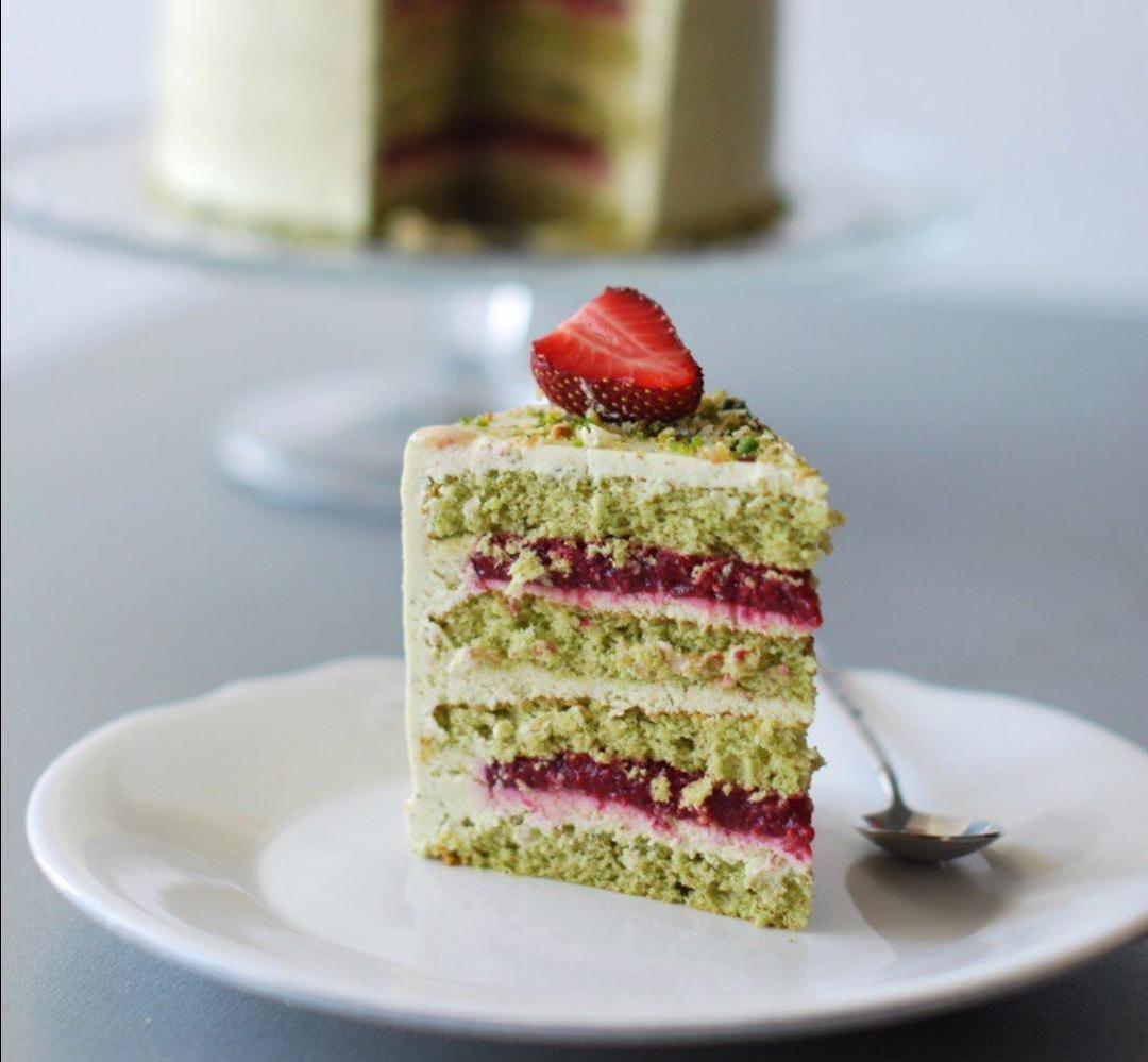 Торт фисташковый картинки