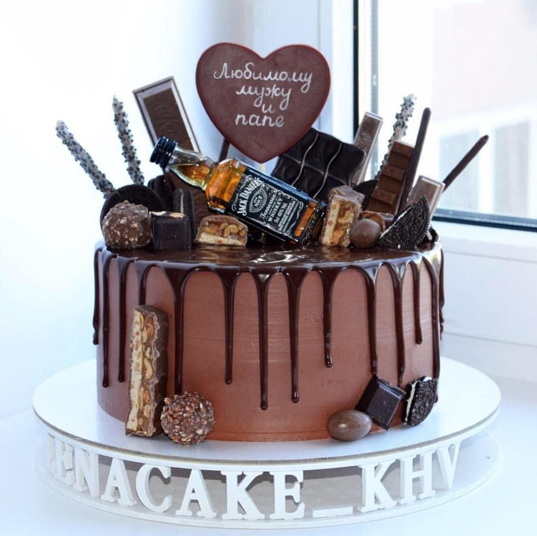 торт для мужа фото на день рождения плащом можно заметить