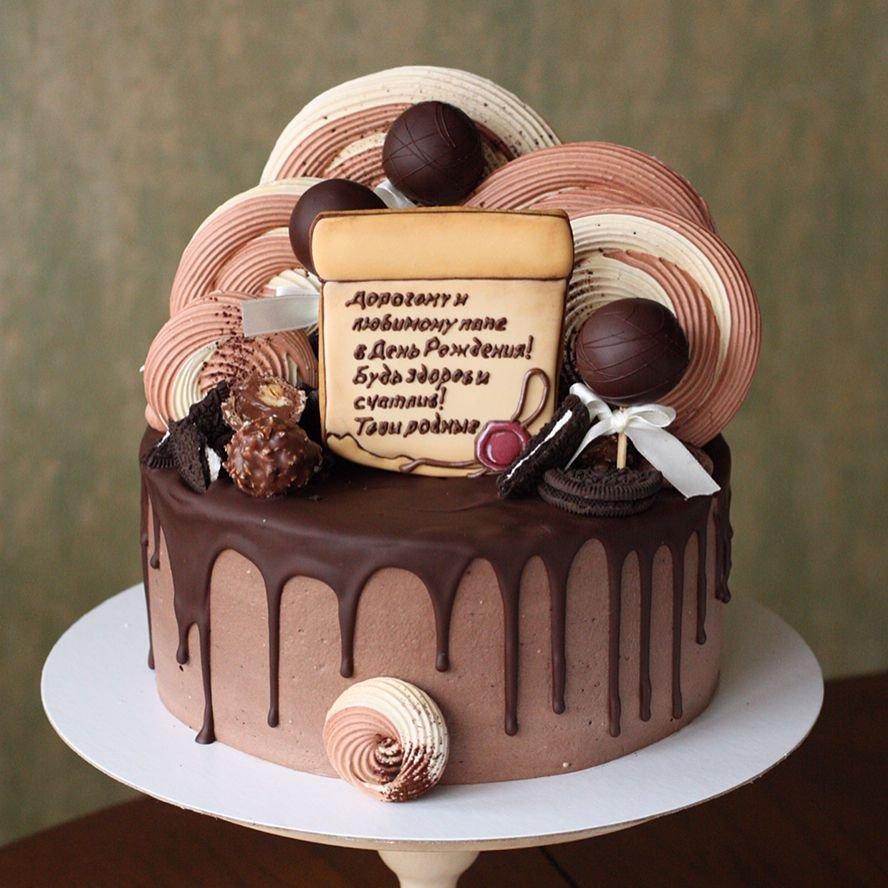фото красивого торта для мужа этом сообщили