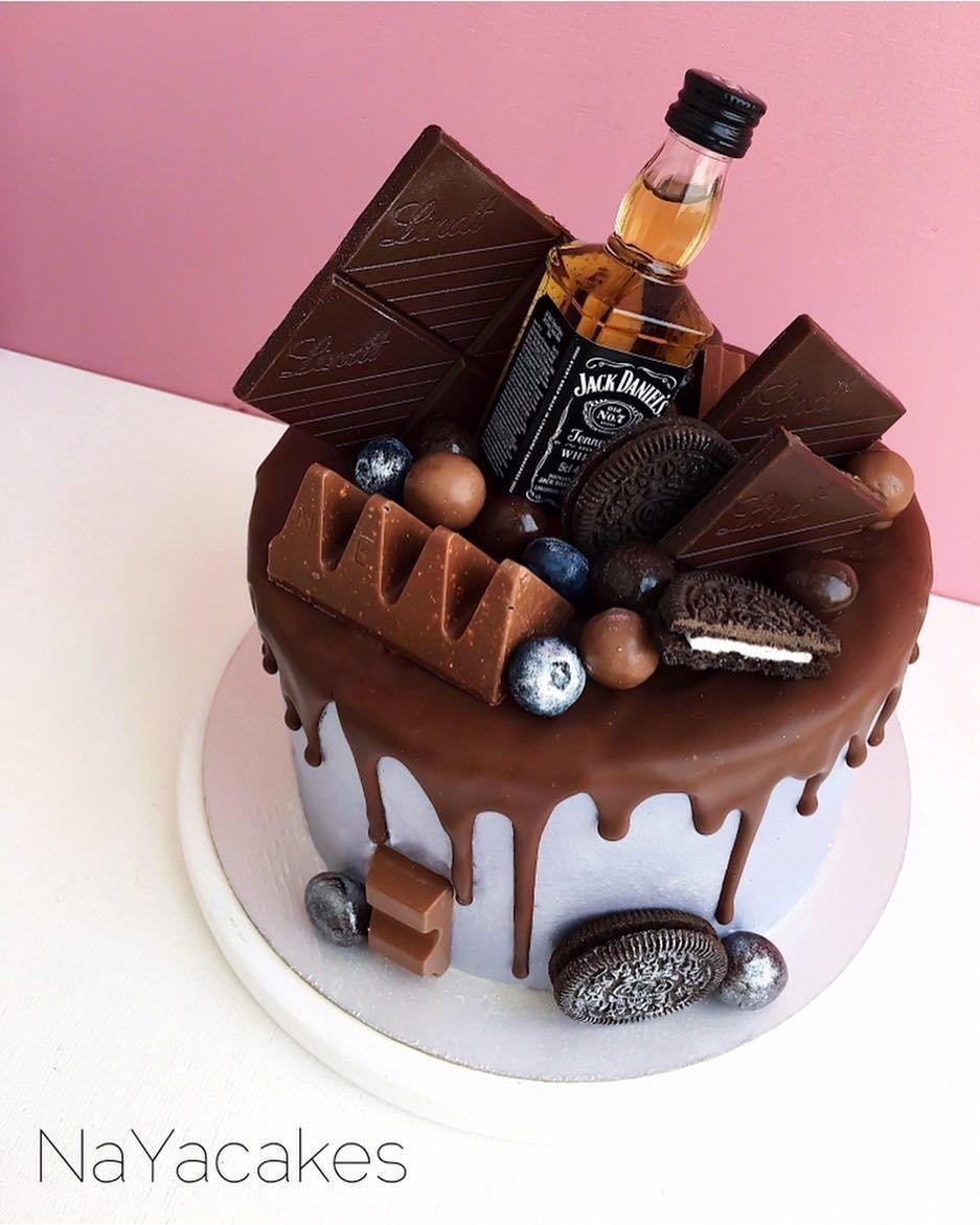 торт с днем рождения для мужчины фото кто себе представляет