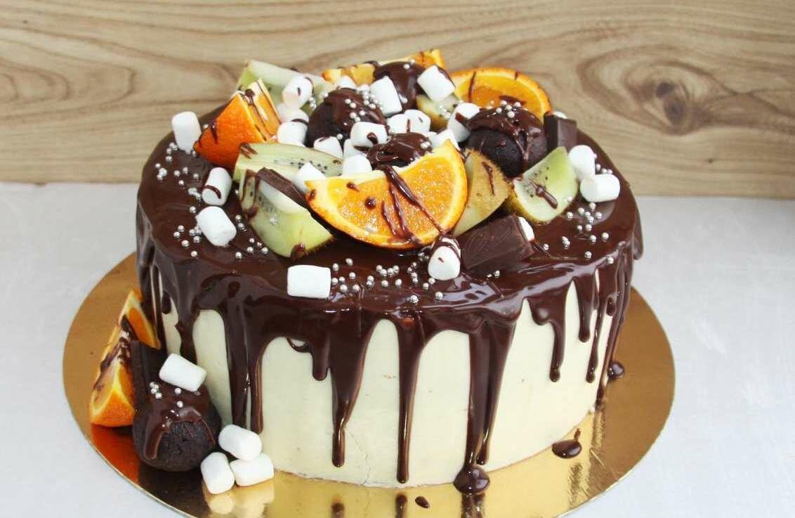 Торт многослойный рецепт с фото