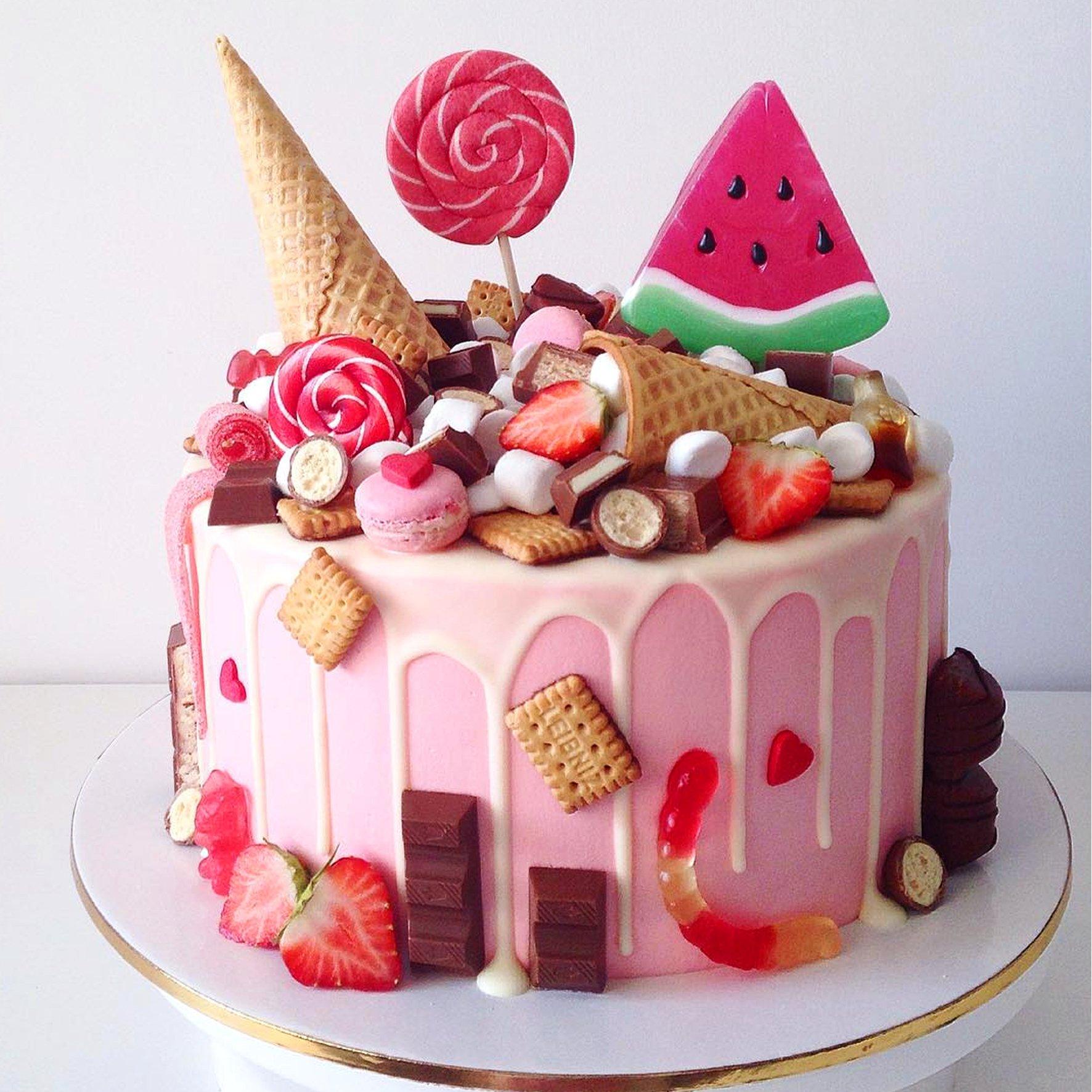 Красивые торты для детей картинки