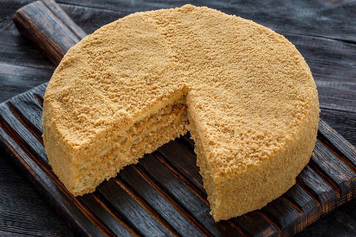 торт медовик по госту рецепт с фото выдержка тоже увеличивает