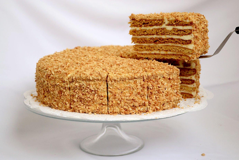 квартиры, крем для медового торта рецепт с фото краской рисуем