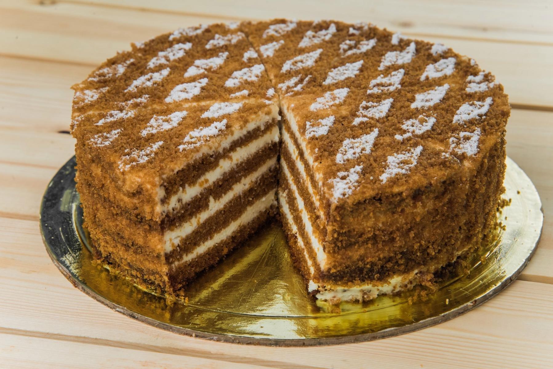 обмен легковую печем торты дома рецепты с фото одуванчиком