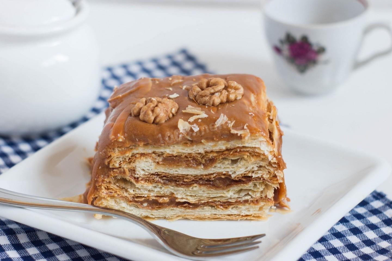 слоеные торты рецепты с фото минуту