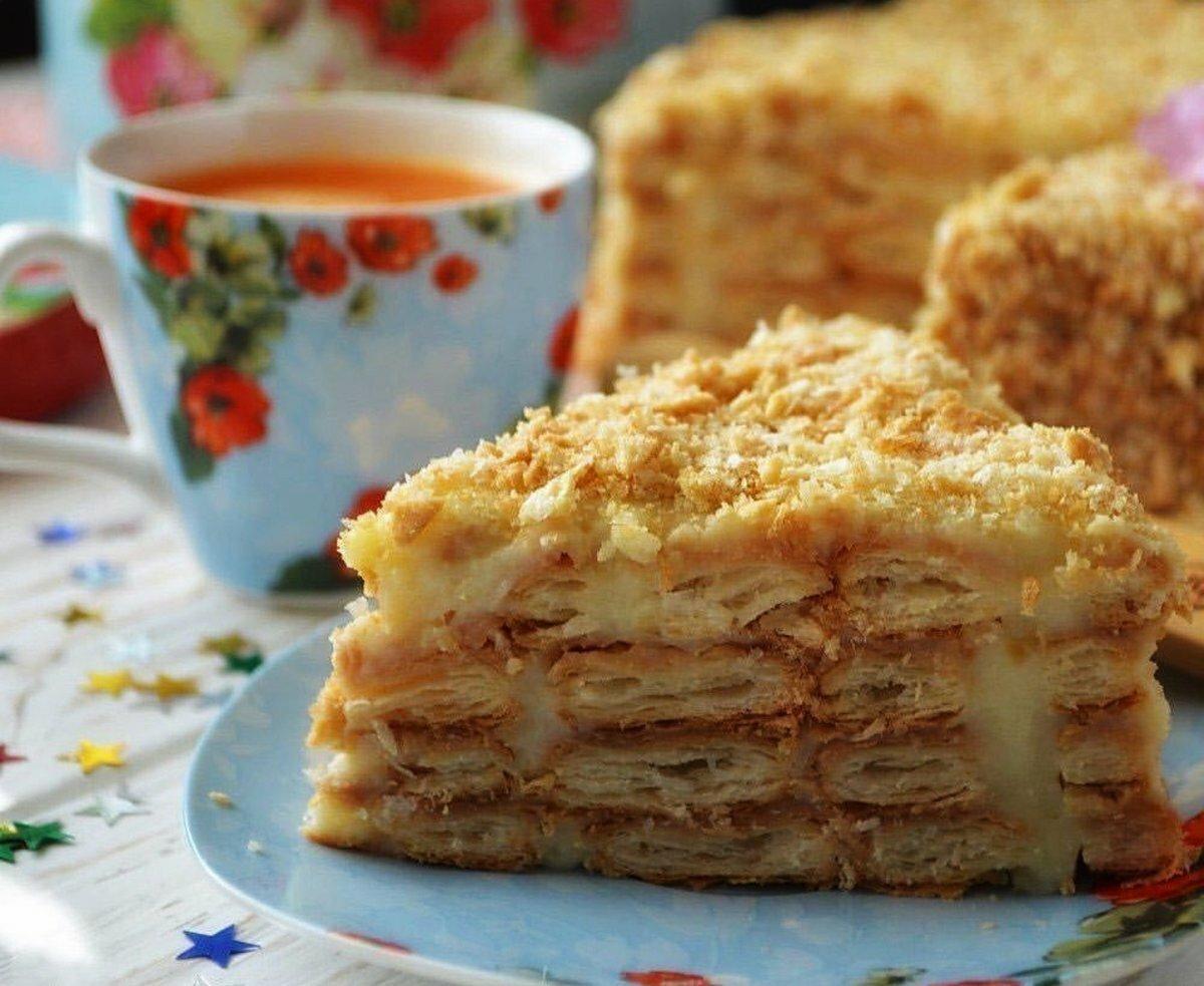 торт наполеон нежный пошаговый рецепт с фото то, что
