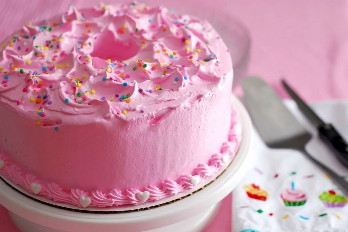 Праздничного торта на девочки рецепт для день рождения
