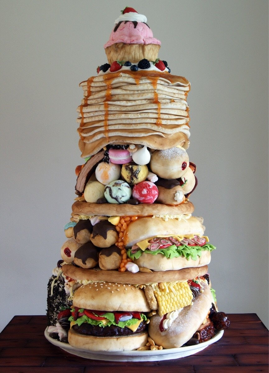 наши как сделать дома необычный торт фото вызвать