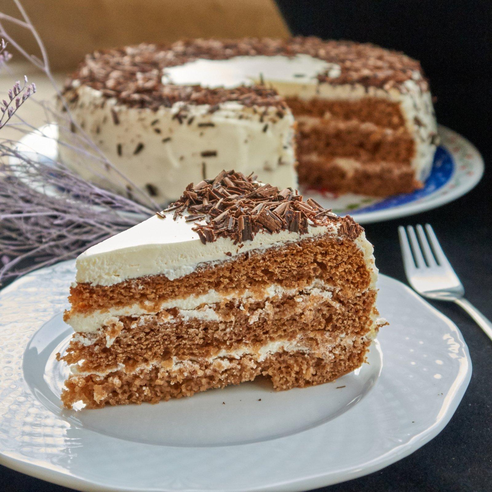 Крем на бисквитный торт рецепт с фото