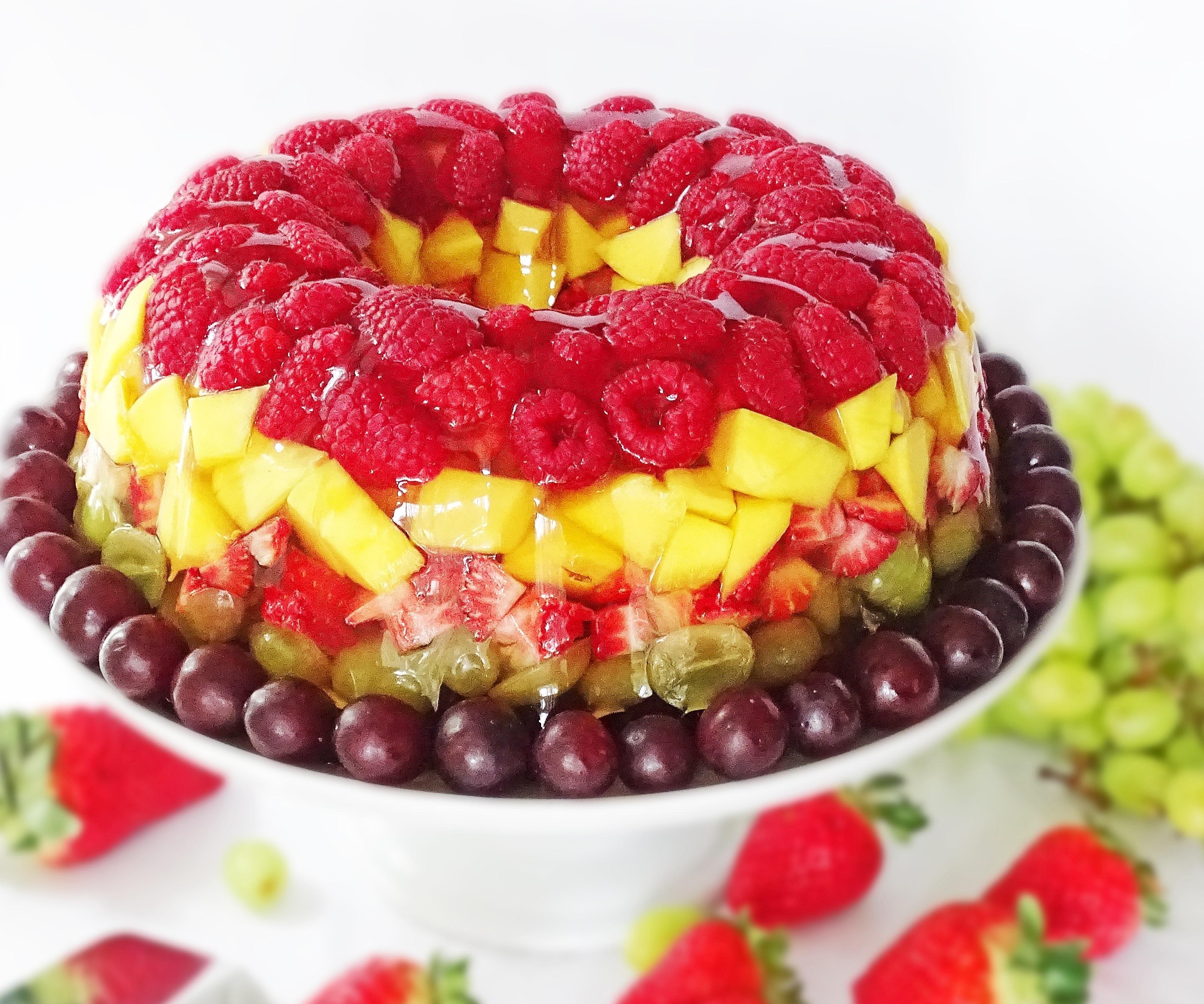 Картинки торты красивые фруктовые