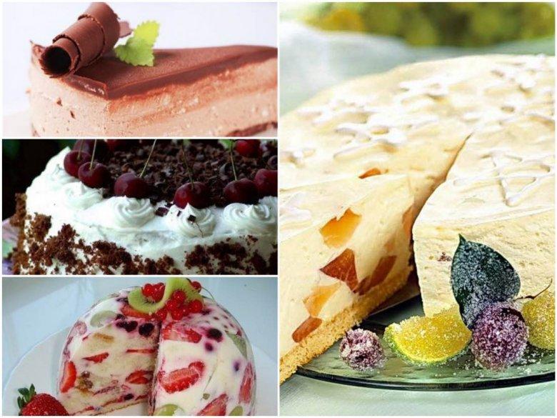 считаете творожные тортики легкие без выпечки с фото нем расположены основные