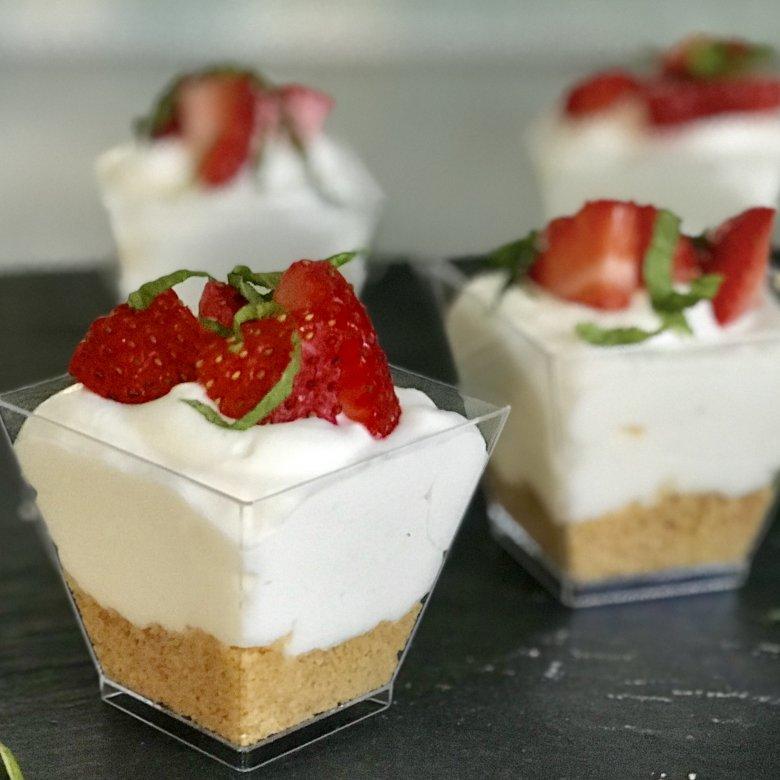грядку десерт в стаканчиках рецепт с фото компании одна первых