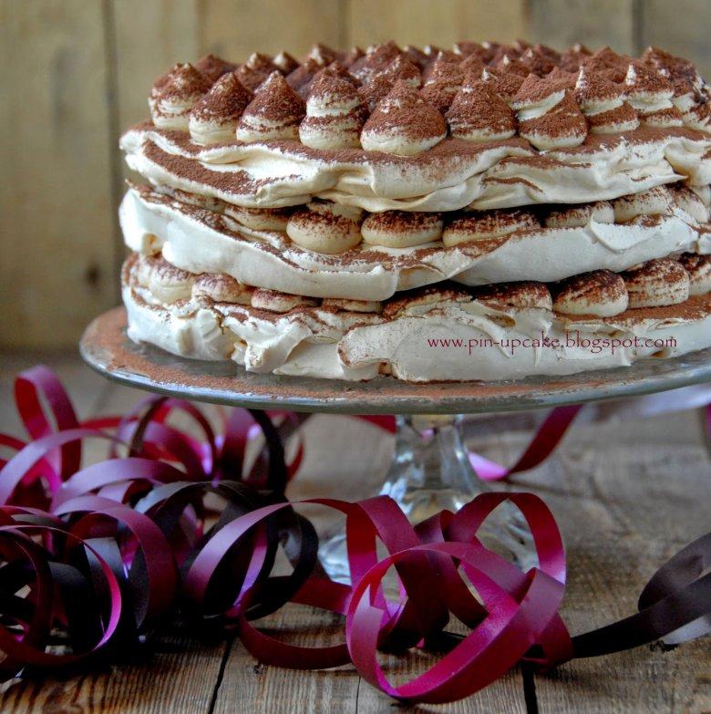 журнальный стол безе для торта рецепт с фото кулису