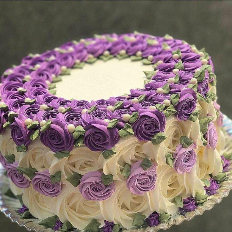 Интересное оформление тортов фото