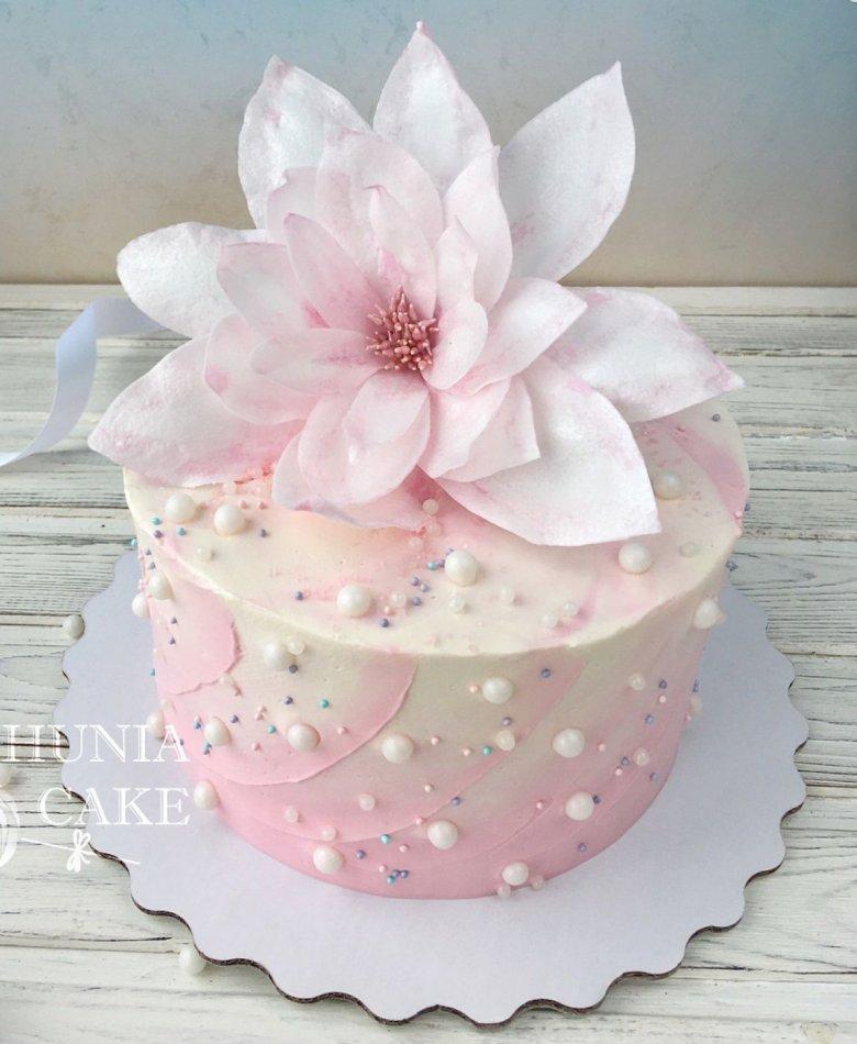 вафельные цветы для торта фото шагал, придерживаясь
