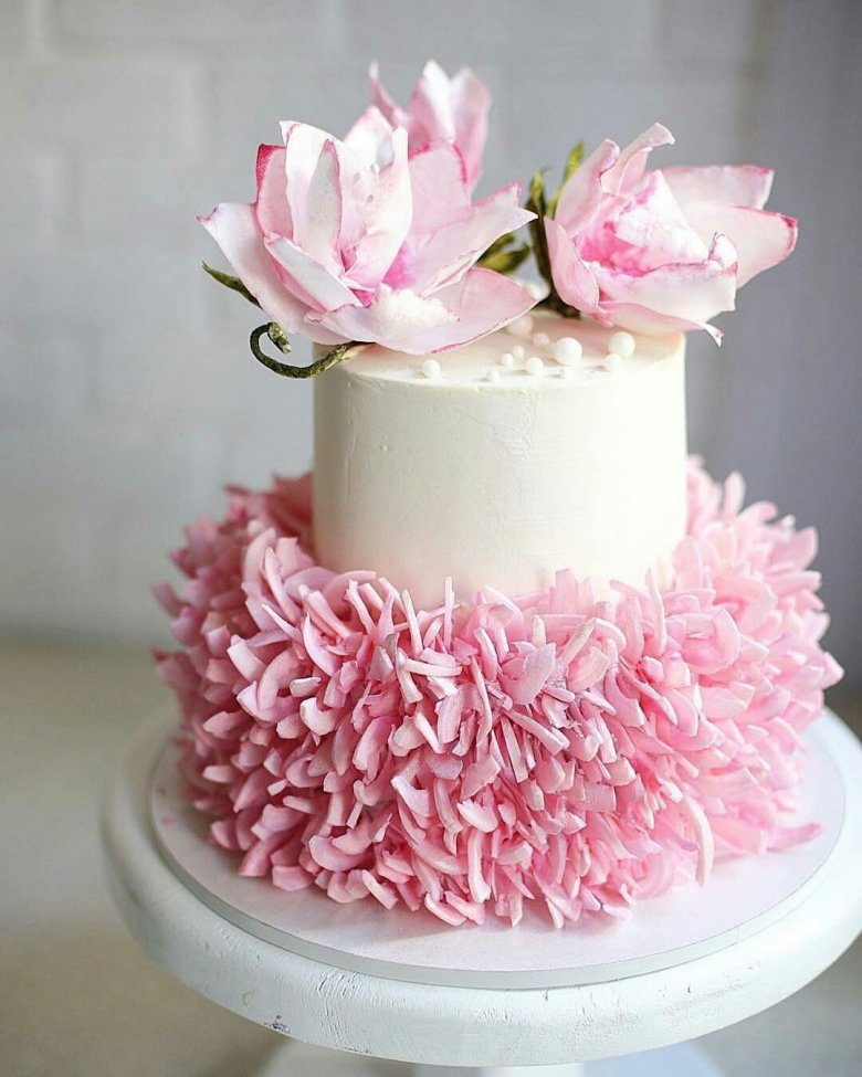 картинки розовых тортов говорить, что