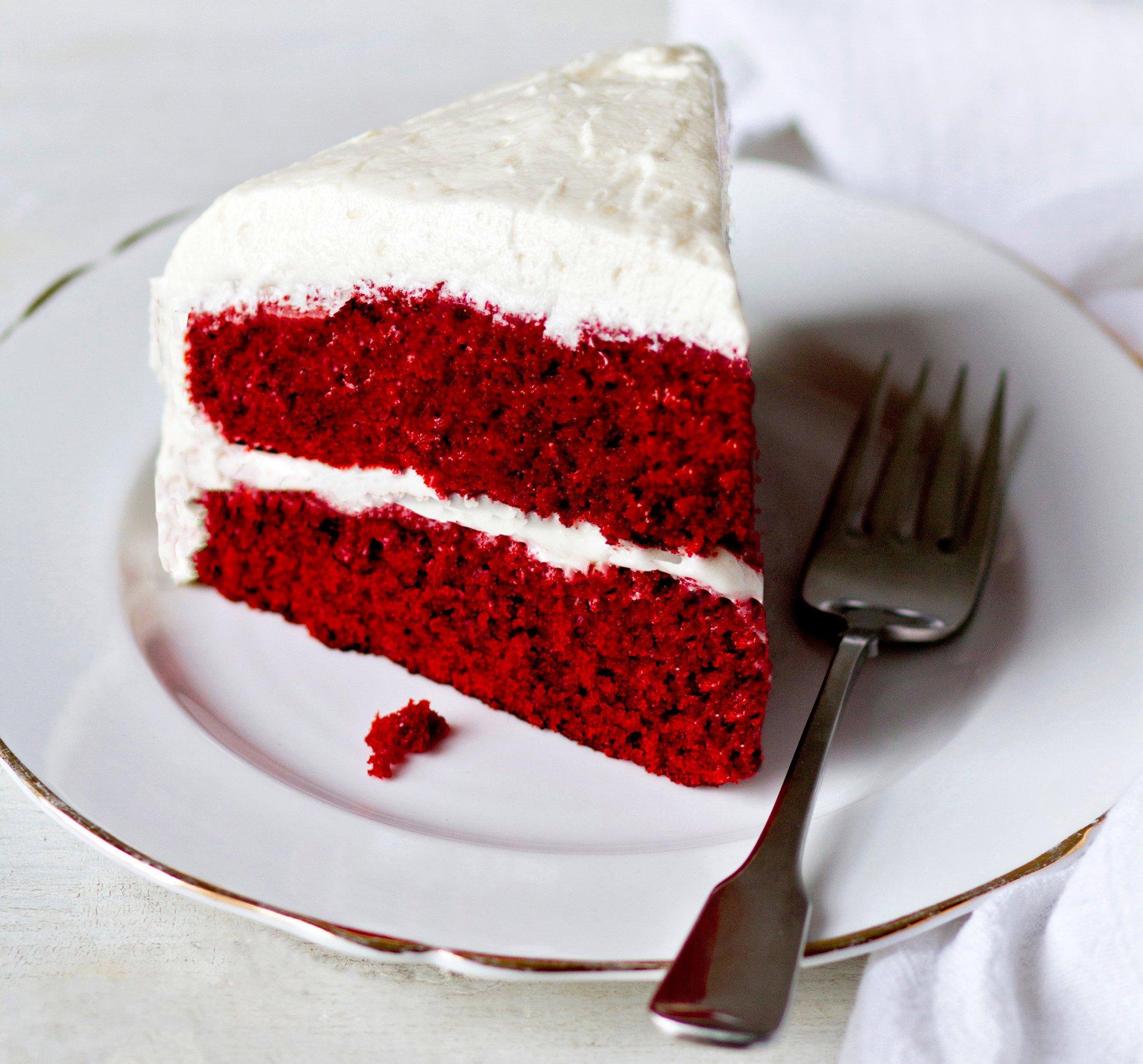 Рецепт торта красный бархат с картинками доехать отсюда
