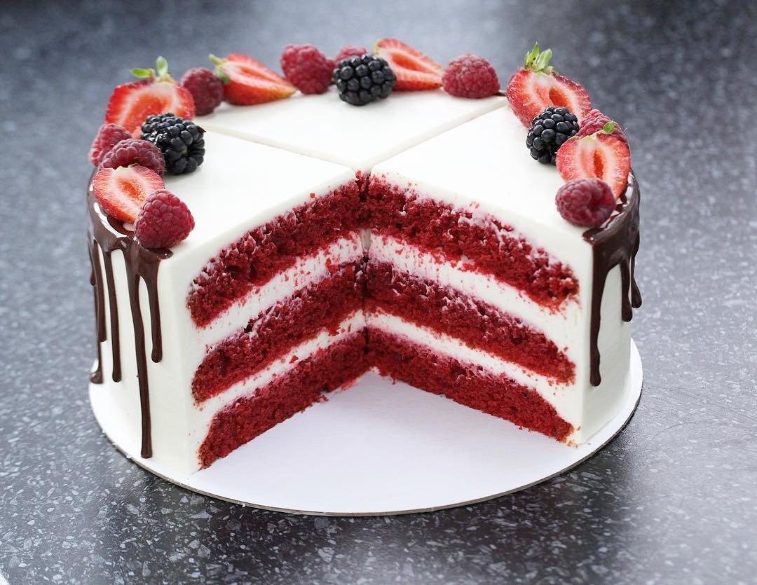 Рецепт торта красный бархат с картинками телки, счет
