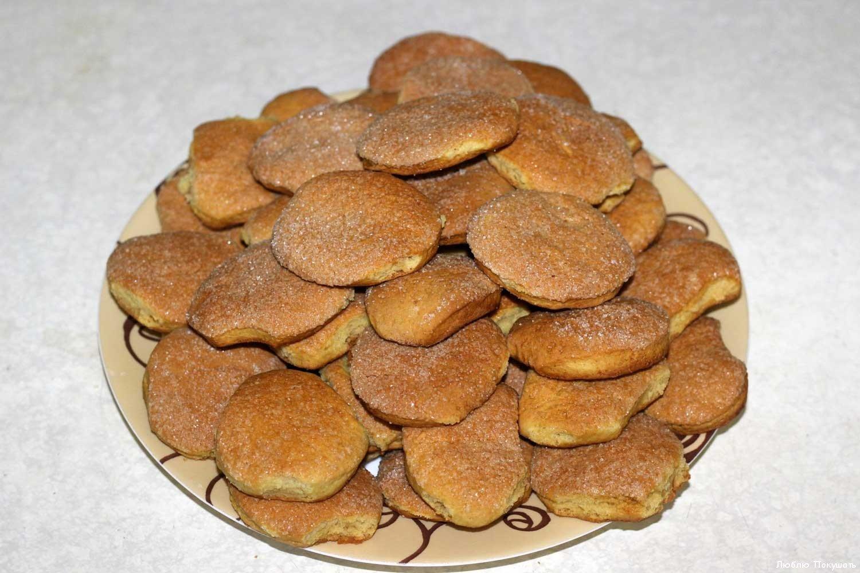 Песочные печенья простой рецепт с фото