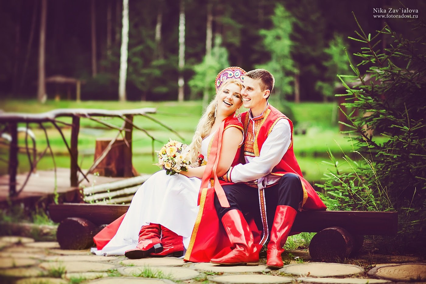 Поздравление на свадьбу в русско-народном стиле