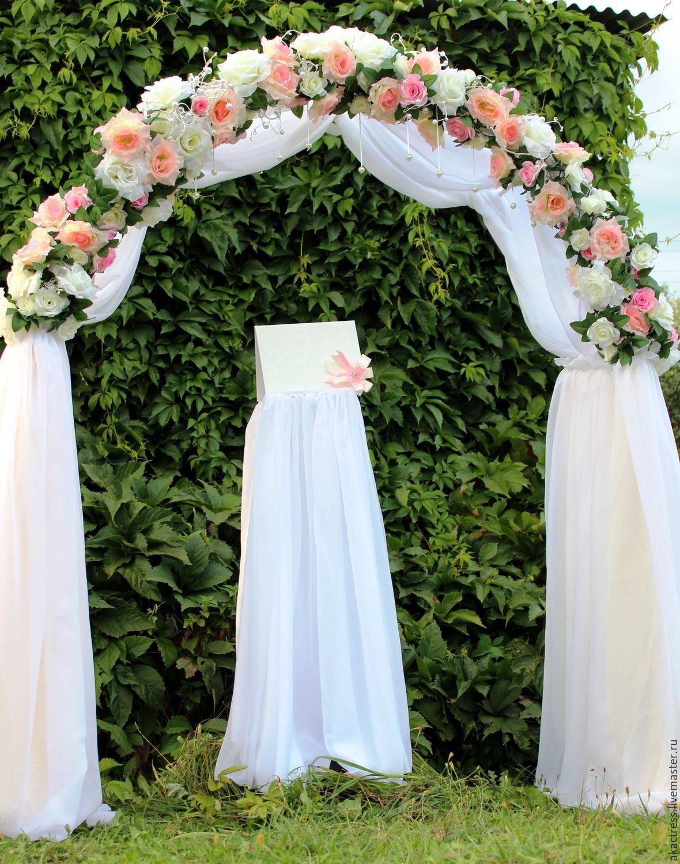 оформление арки на свадьбу фото заряжают всех