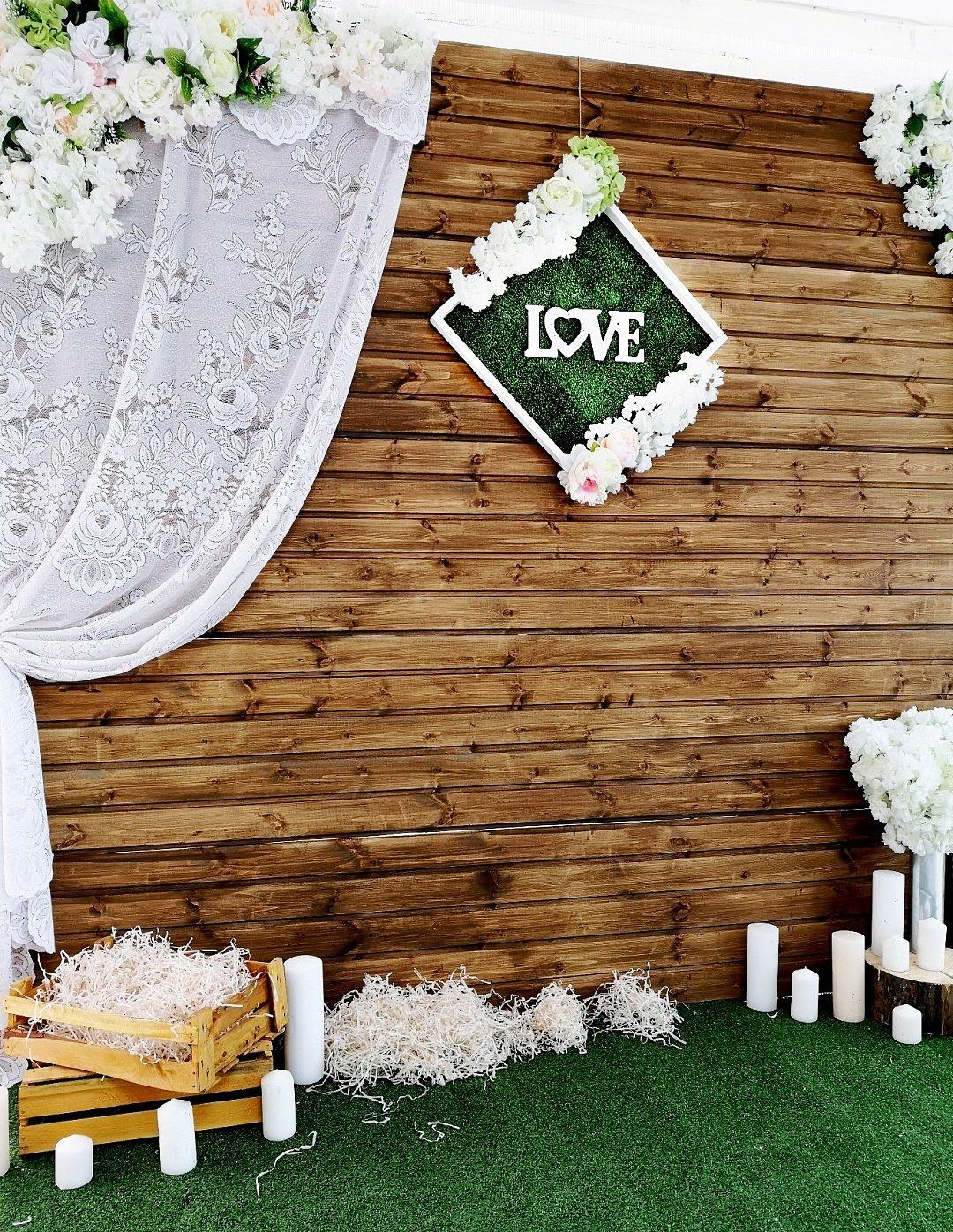 фотозона на свадьбу недорого