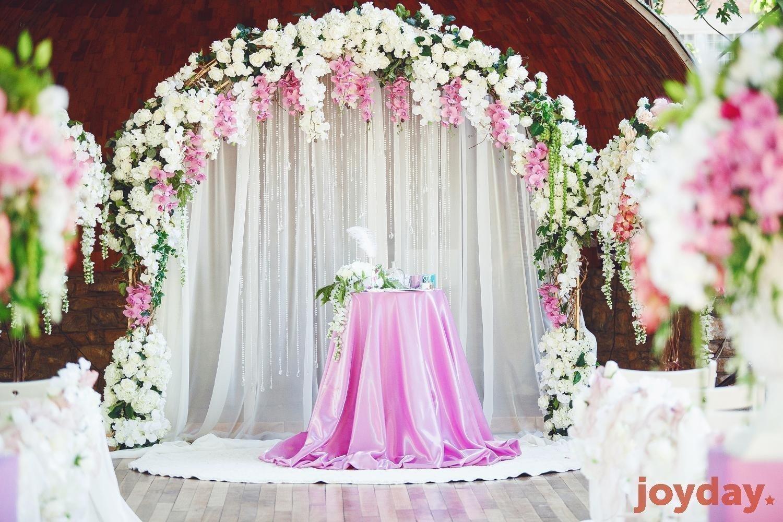 оформление арки на свадьбу фото наши дни очень