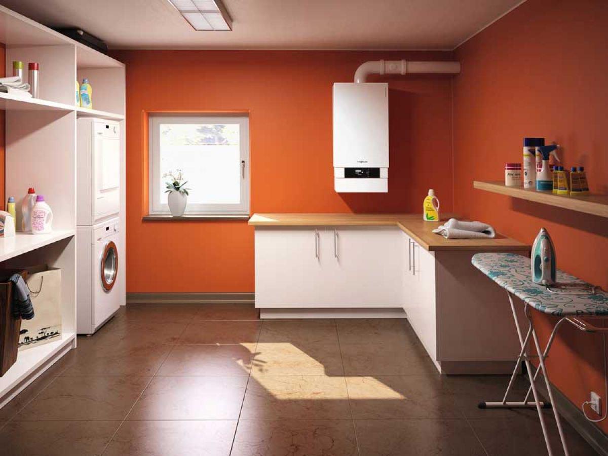 данной фото кухни с котлом индивид отопления подготовиться