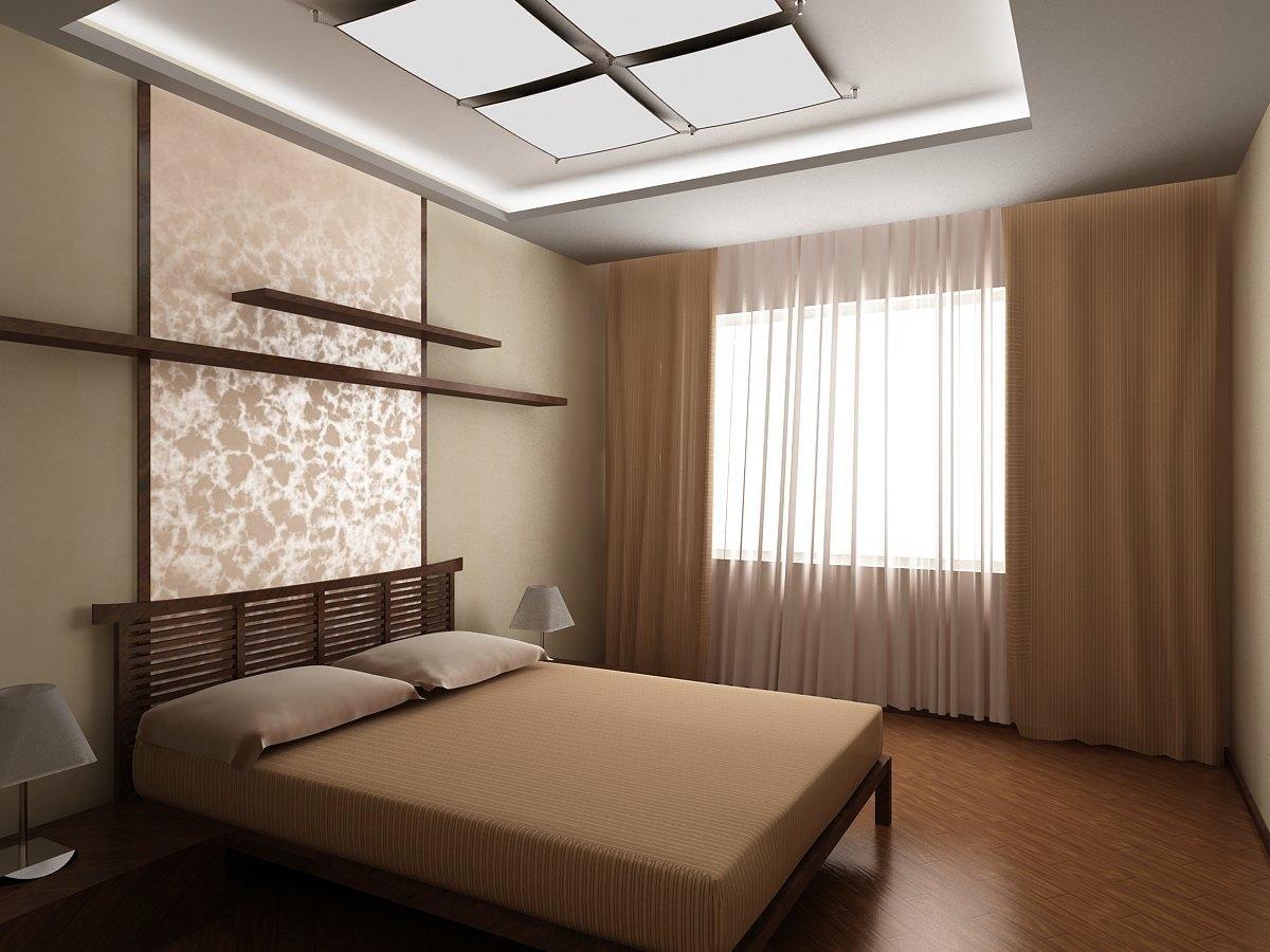 красивый дешевый ремонт в спальне частный дом фото