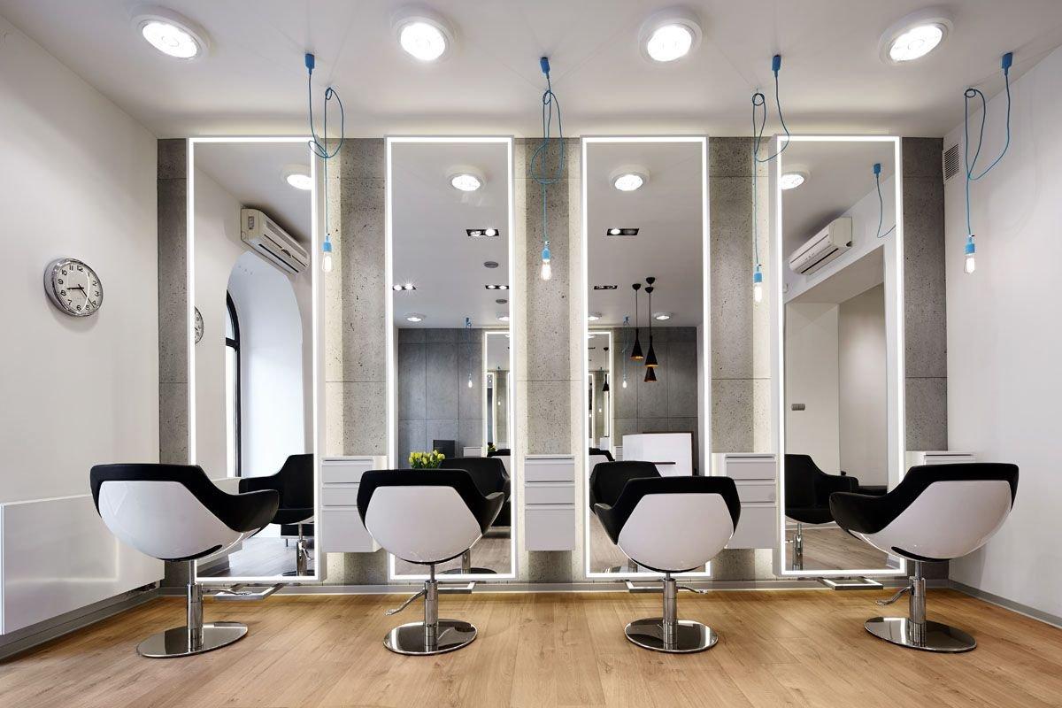 дымники меди, супер оформление парикмахерского салона фото королевская