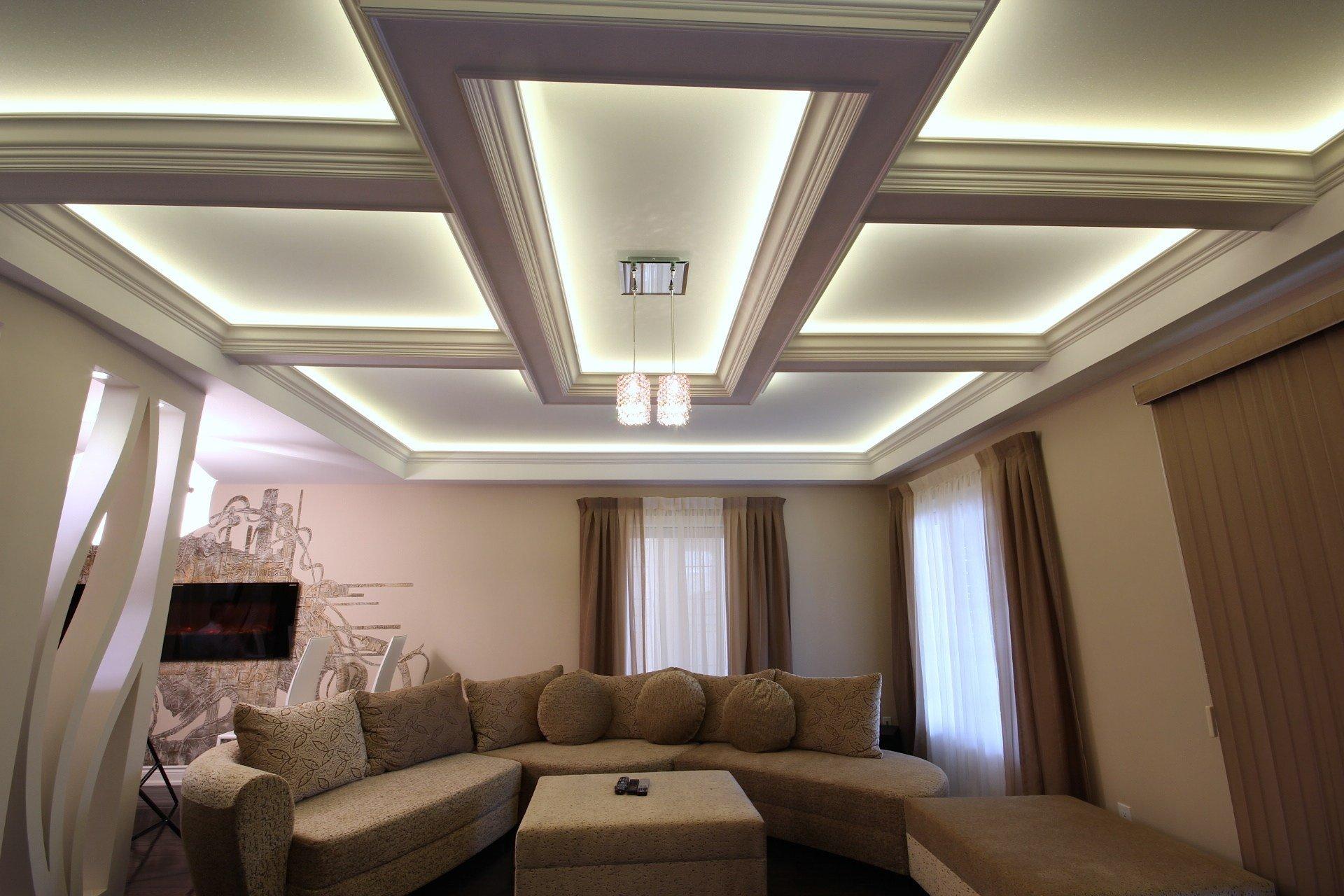 сейчас подвесной потолок из гипсокартона дизайн фото эксклюзивных