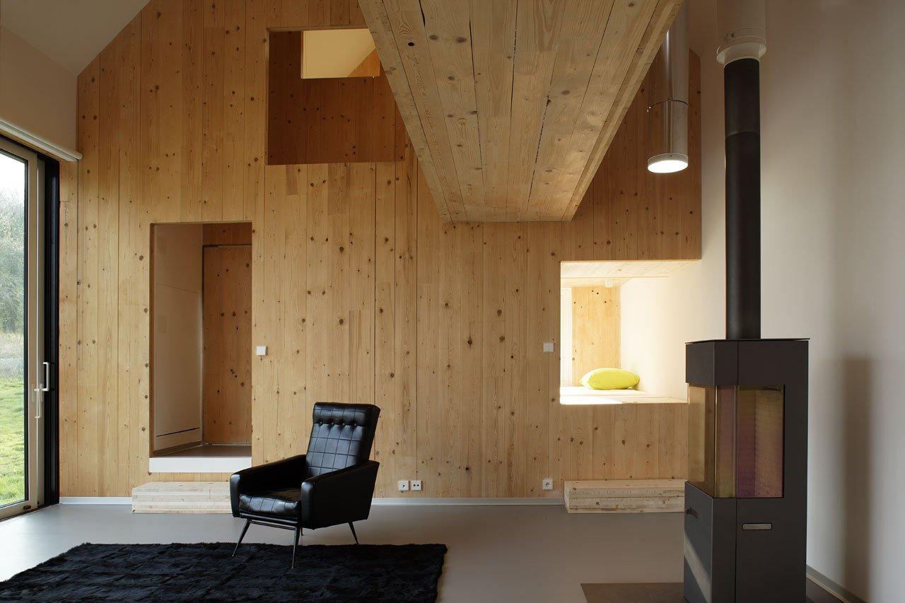 современные дачные дома фото изнутри ярко