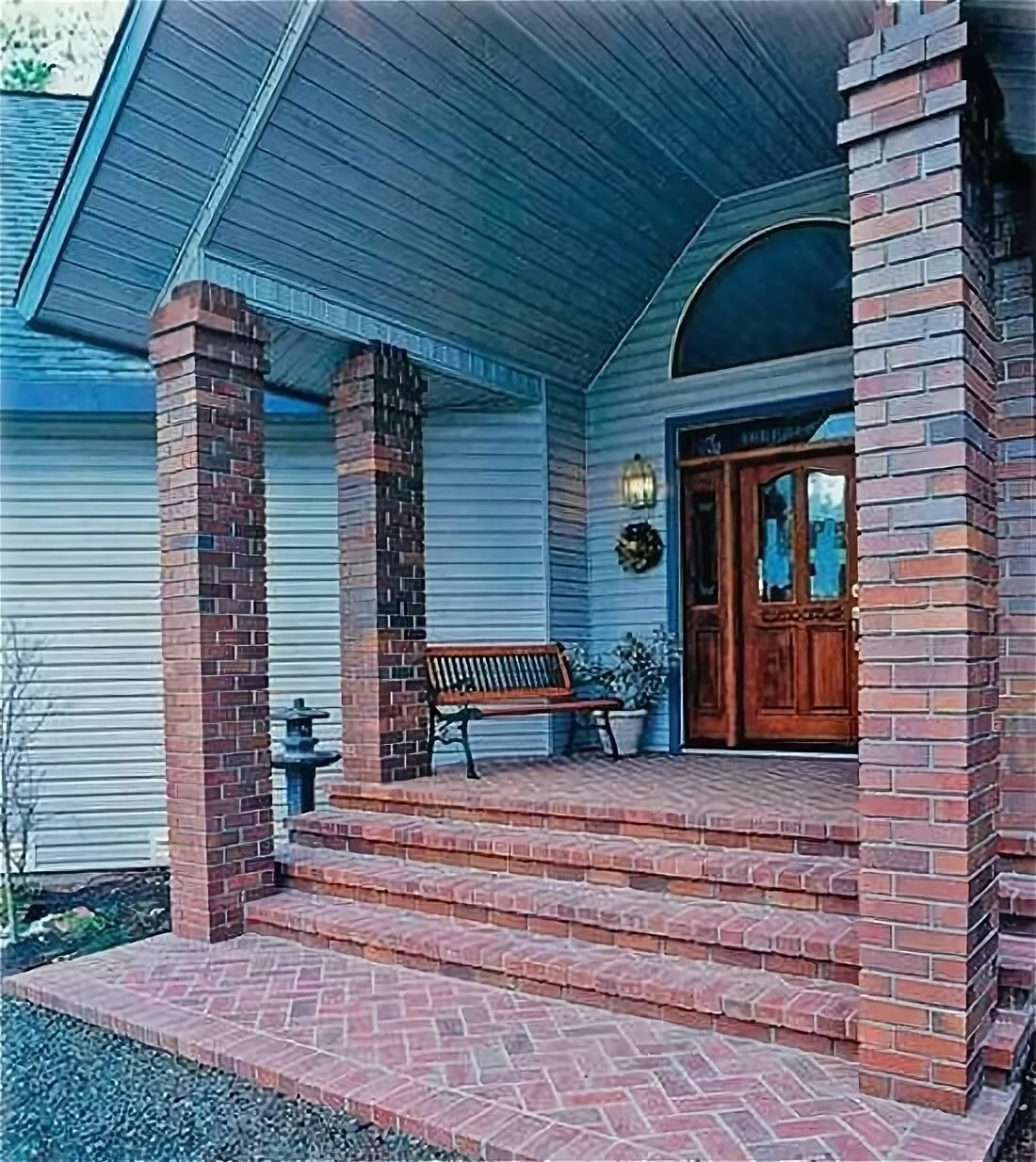 Крыльцо дома дизайн фотогалерея