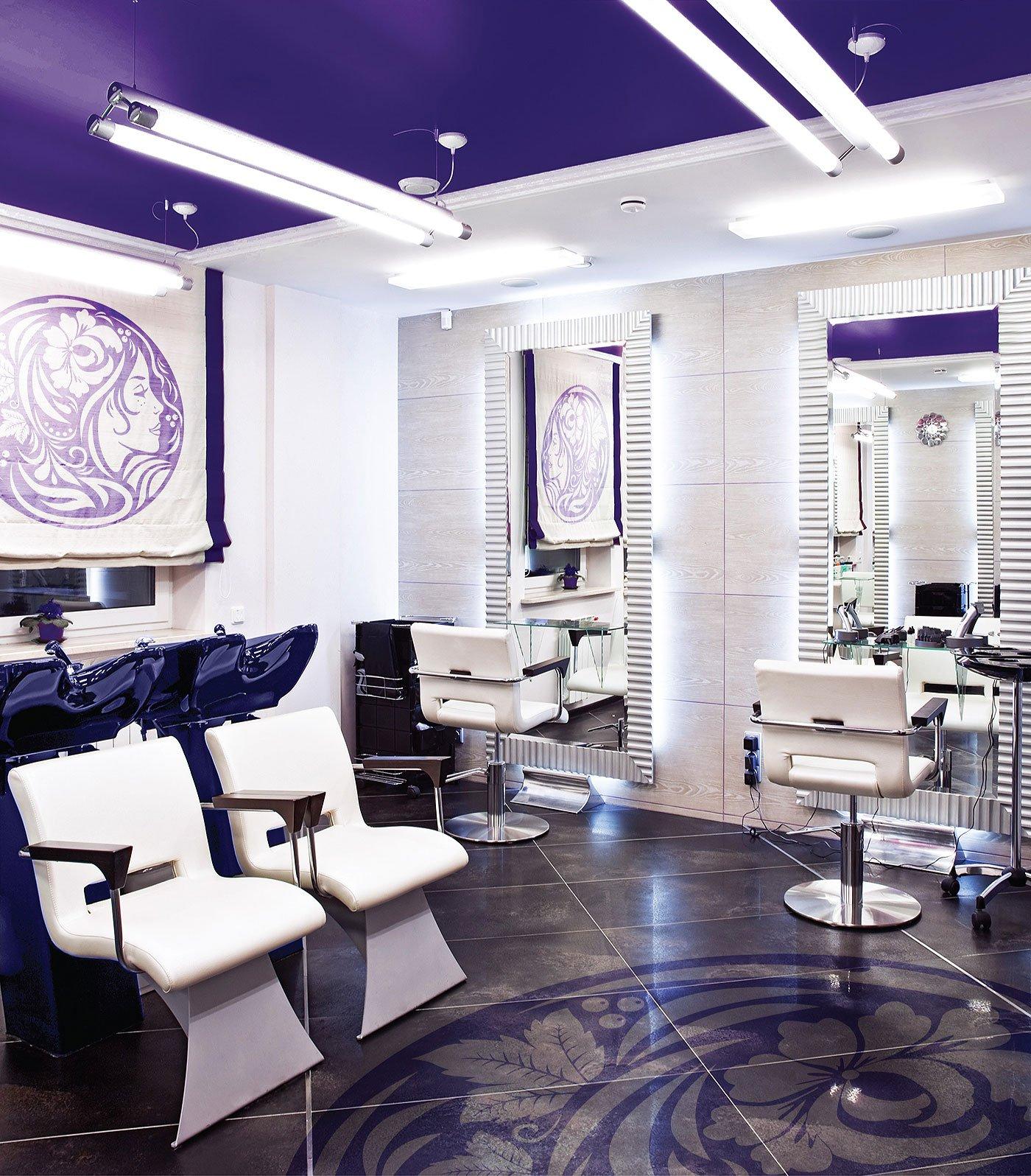 Супер оформление парикмахерского салона фото