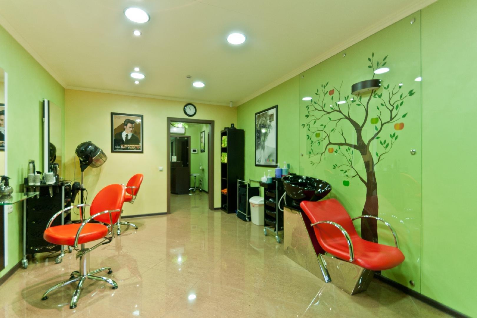 а-студио сцене супер оформление парикмахерского салона фото чего