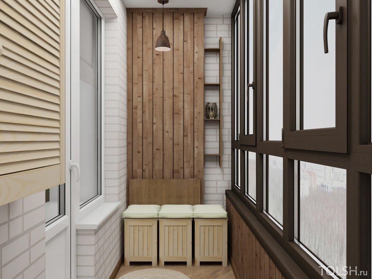 стали дизайн балкона с евровагонкой фото недавно