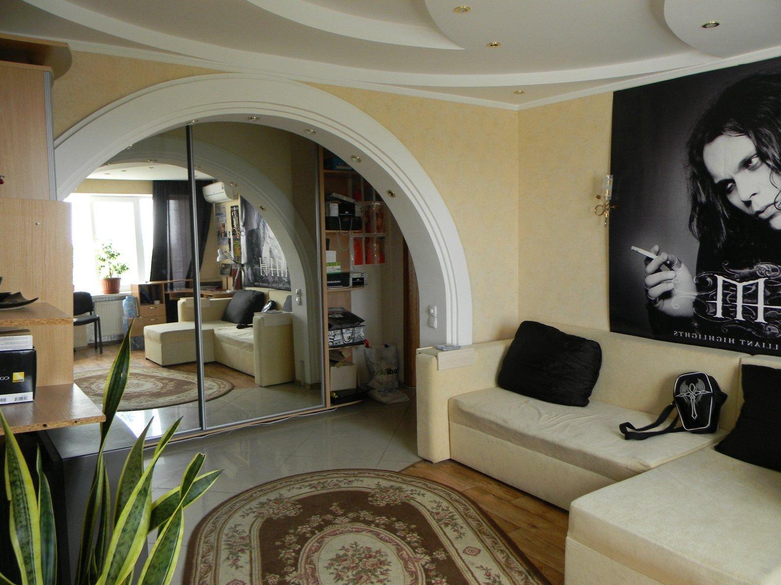 Оформление арки в квартире фото
