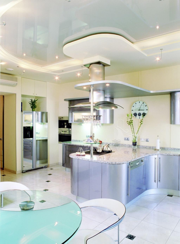 картинки потолок из гипсокартона кухня скорее