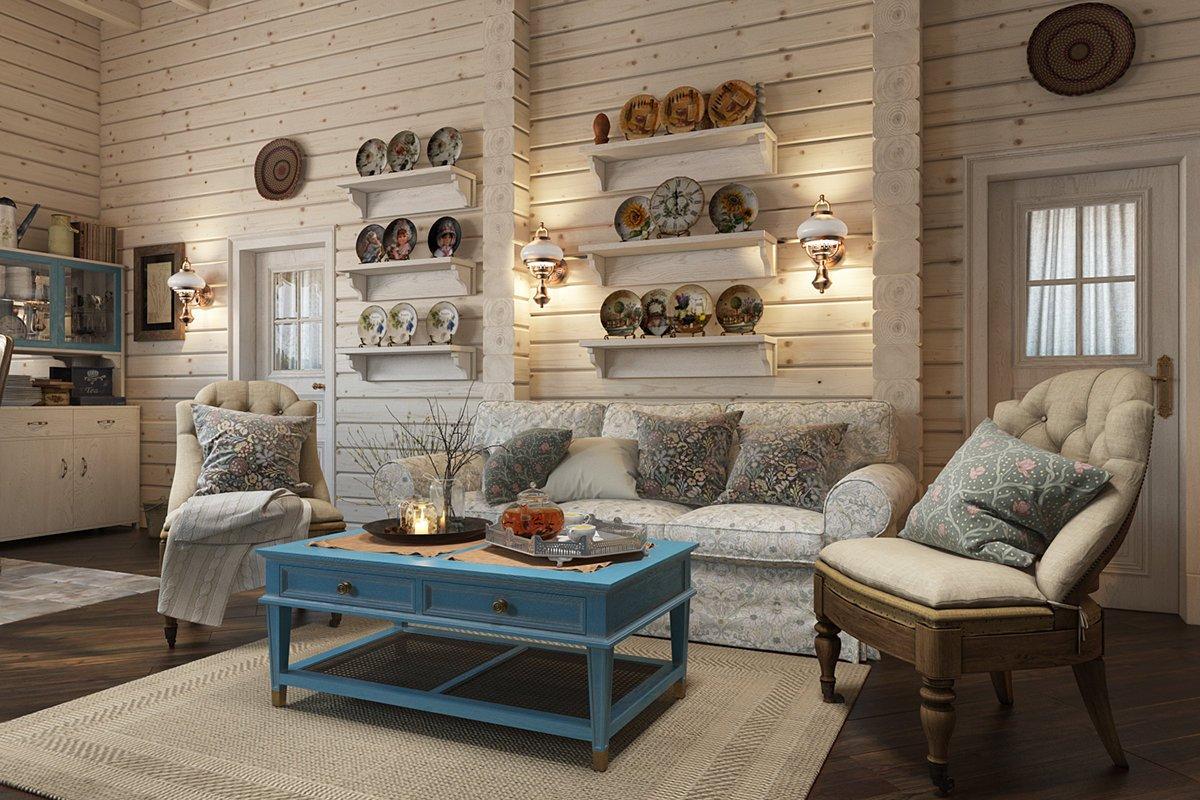 газели стиль прованс в дачном домике фото города