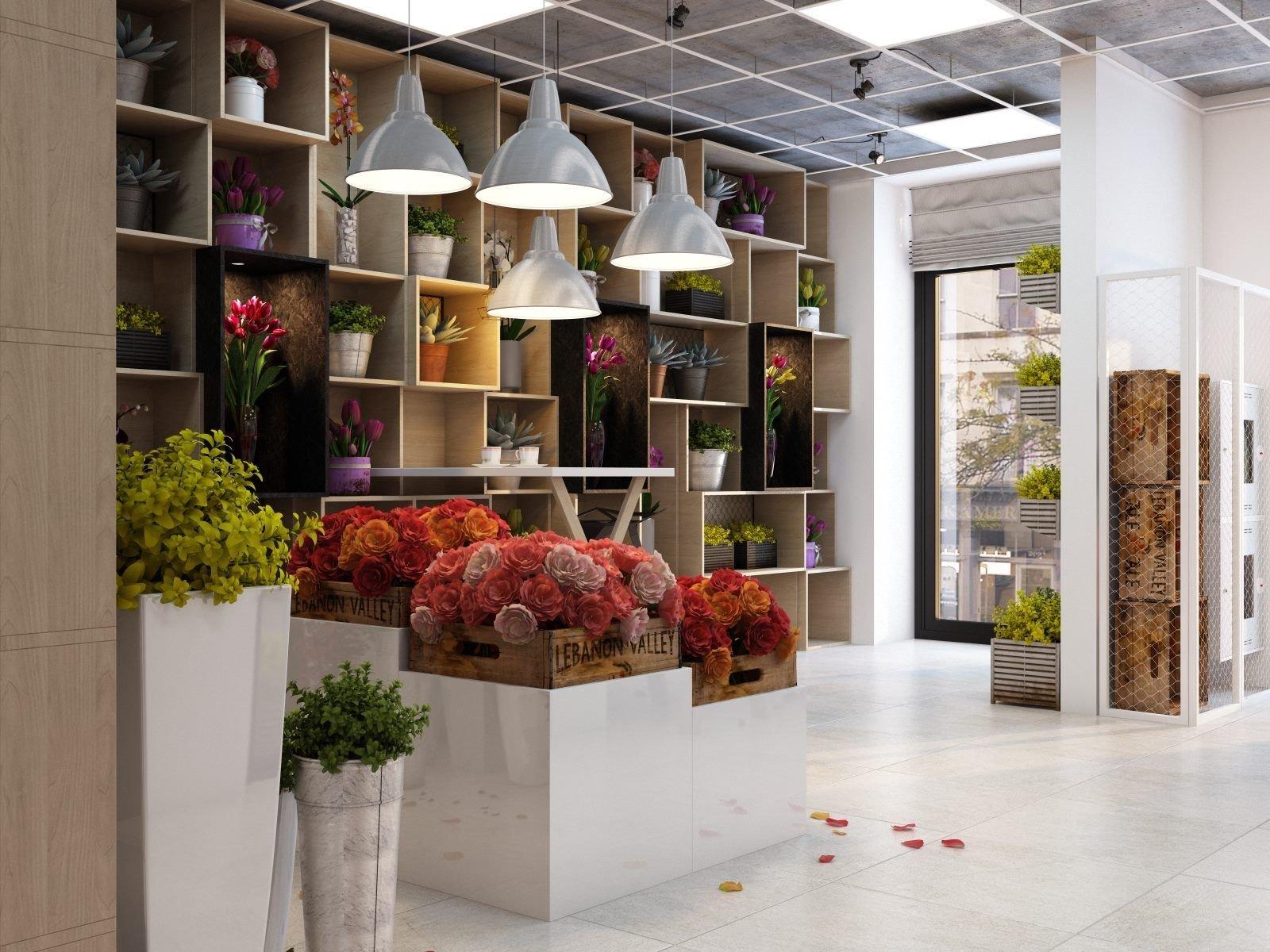 углы оформление магазина цветов фото колокольне