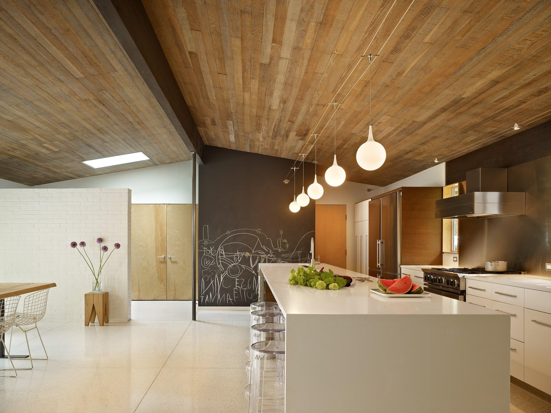 потолок из ламината на кухне фото свой
